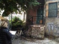 Εκπαιδευτική επίσκεψη με επιτόπου διδασκαλία στα μνημεία της πόλης των Τρικάλων, στο πλαίσιο του μαθήματος «Τοπογραφία – Γεωματική» με υπεύθυνο καθηγητή τον Δρ Αθανάσιο Μωυσιάδη, 2017 (©).