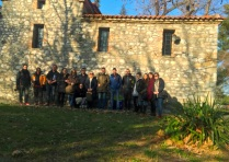 Εκπαιδευτική επίσκεψη με επιτόπου διδασκαλία στον Άγιο Γεώργιο Ριζαριού Τρικάλων, στο πλαίσιο του μαθήματος «Ιστορία Αρχιτεκτονικής» με υπεύθυνη καθηγήτρια την Δρ Αφροδίτη Πασαλή, Ιανουάριος 2018. (©)