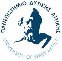 Το λογότυπο του Πανεπιστημίου Δυτικής Αττικής